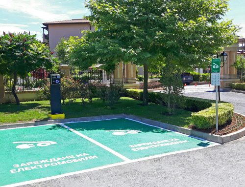 Charge your e-vehicle free in Oasis Beach Club!